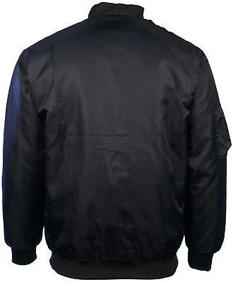 Montana Men's Reversible Pilot Jacket-Black/Orange