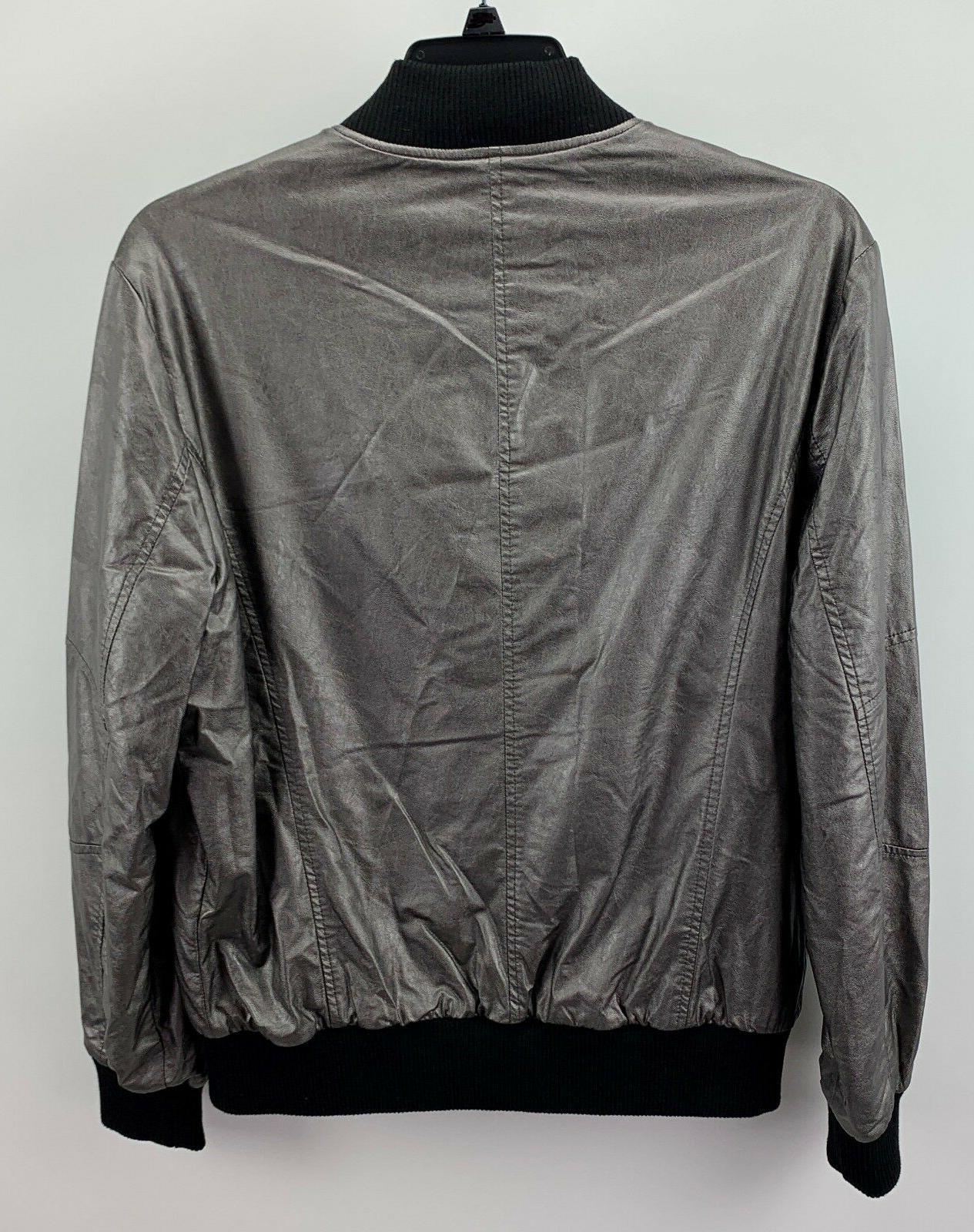 Kenneth Metallic Bomber Jacket M