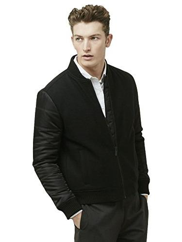 Kenneth Cole Men's Quilted Xl Black Combo