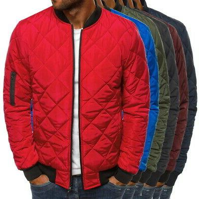Men's Bubble Quilted Padded