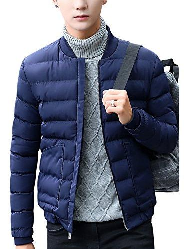 men s warm quilted padded varsity baseball