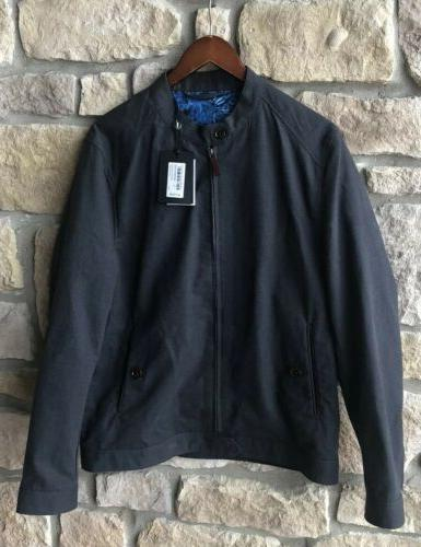 Ted Baker Men's XL Size 5 Harrington Bomber Jacket Zip Up NW