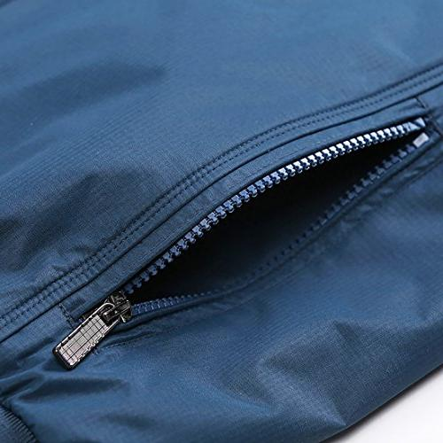 Nantersan Casual Outdoor Sportswear Windbreaker Lightweight Bomber Jackets Medium,