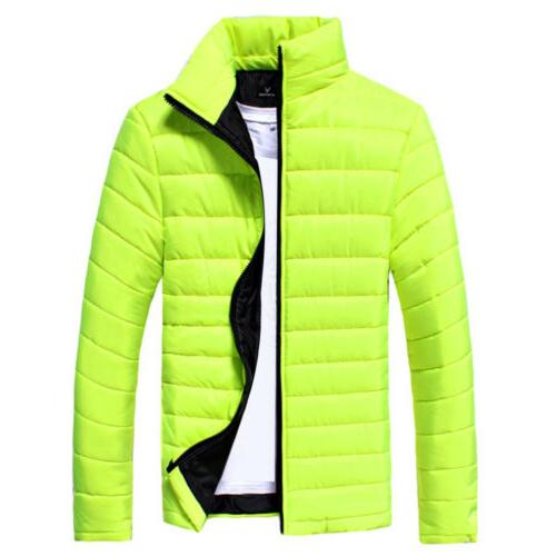 Mens Bubble Coat Warm Quilted Padded