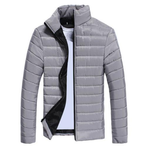 Mens Quilted Padded Packable