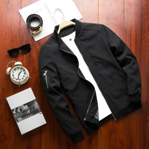 Mens Up Lightweight Bomber Coat Outfit Outerwear