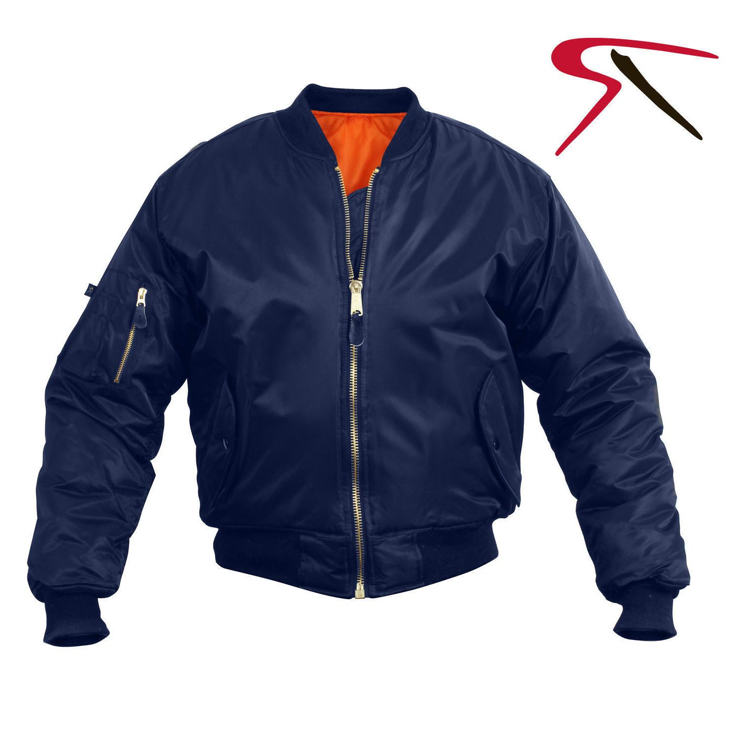 MA1 Jacket NEW YEARS Rothco AirForce Military Reversible Flight