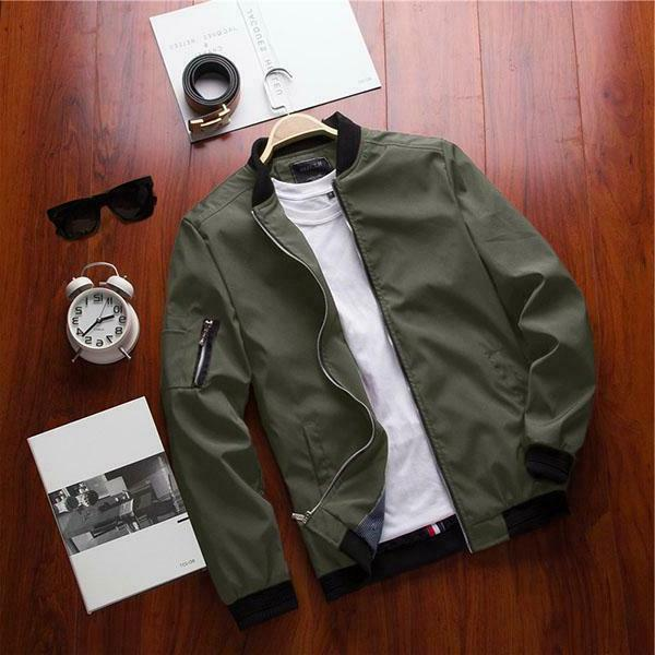 Mist Casual Bomber | FREE Shipping! 5