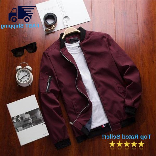 mist casual bomber jacket free shipping 5