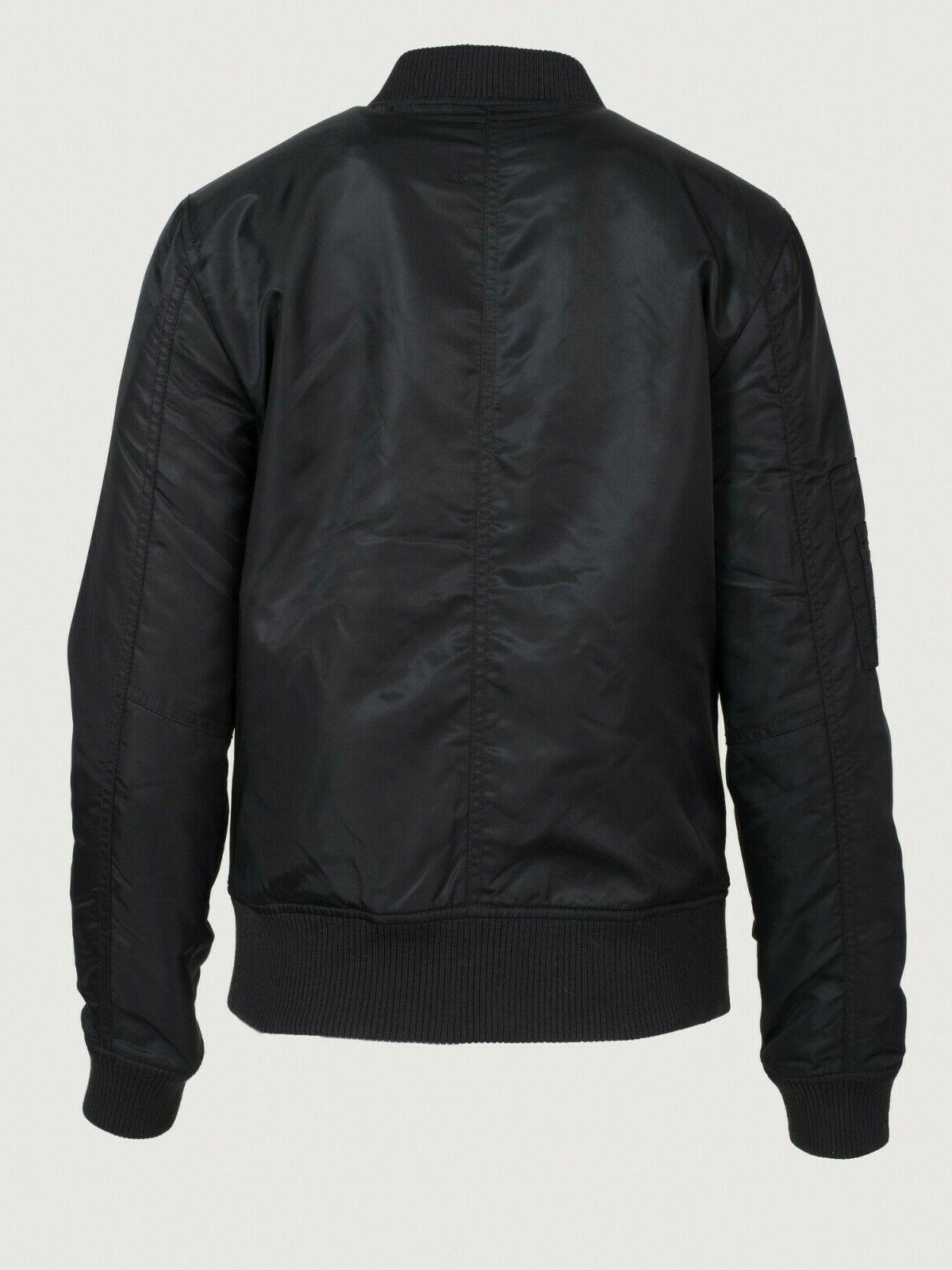 New Dillards black water bomber jacket XS