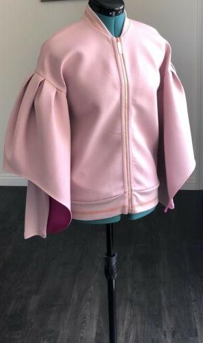 NEW Ted Pink Structured Jacket Puff US Small