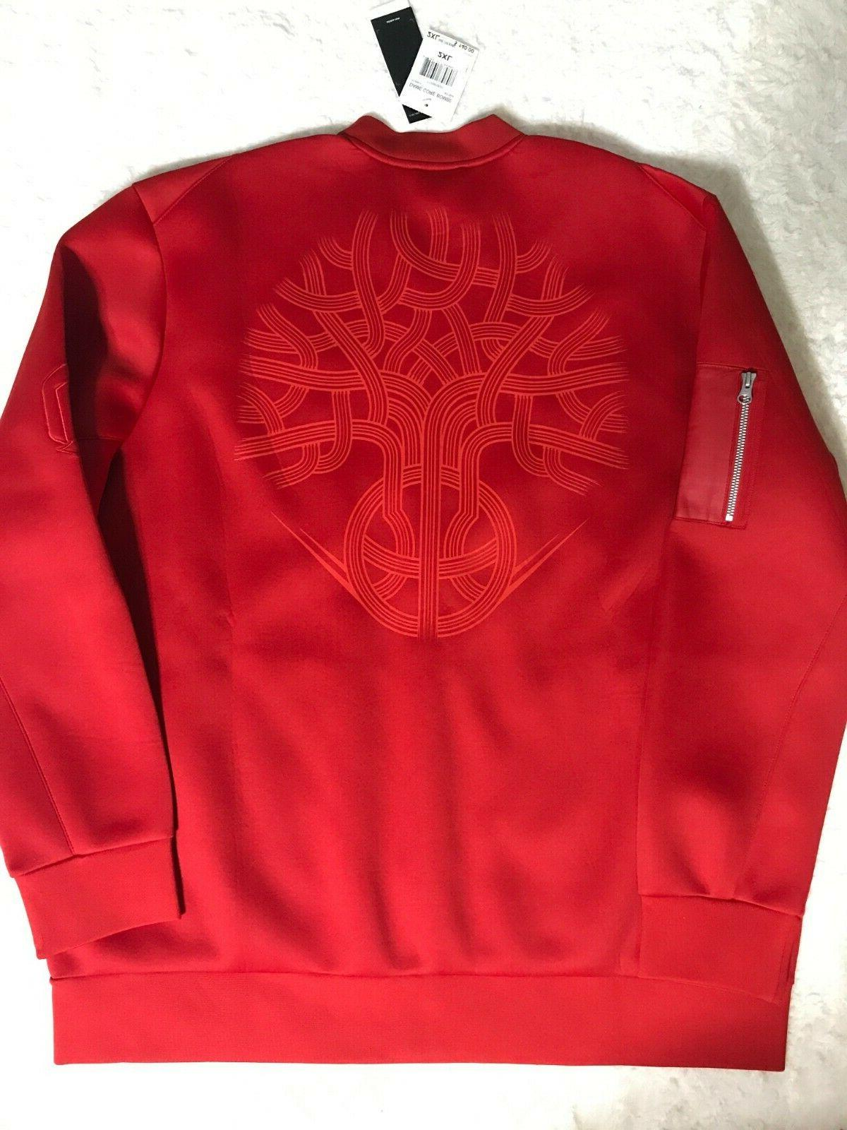 NEW Men's Scarlet Red Core Embossed 2XL AO1644