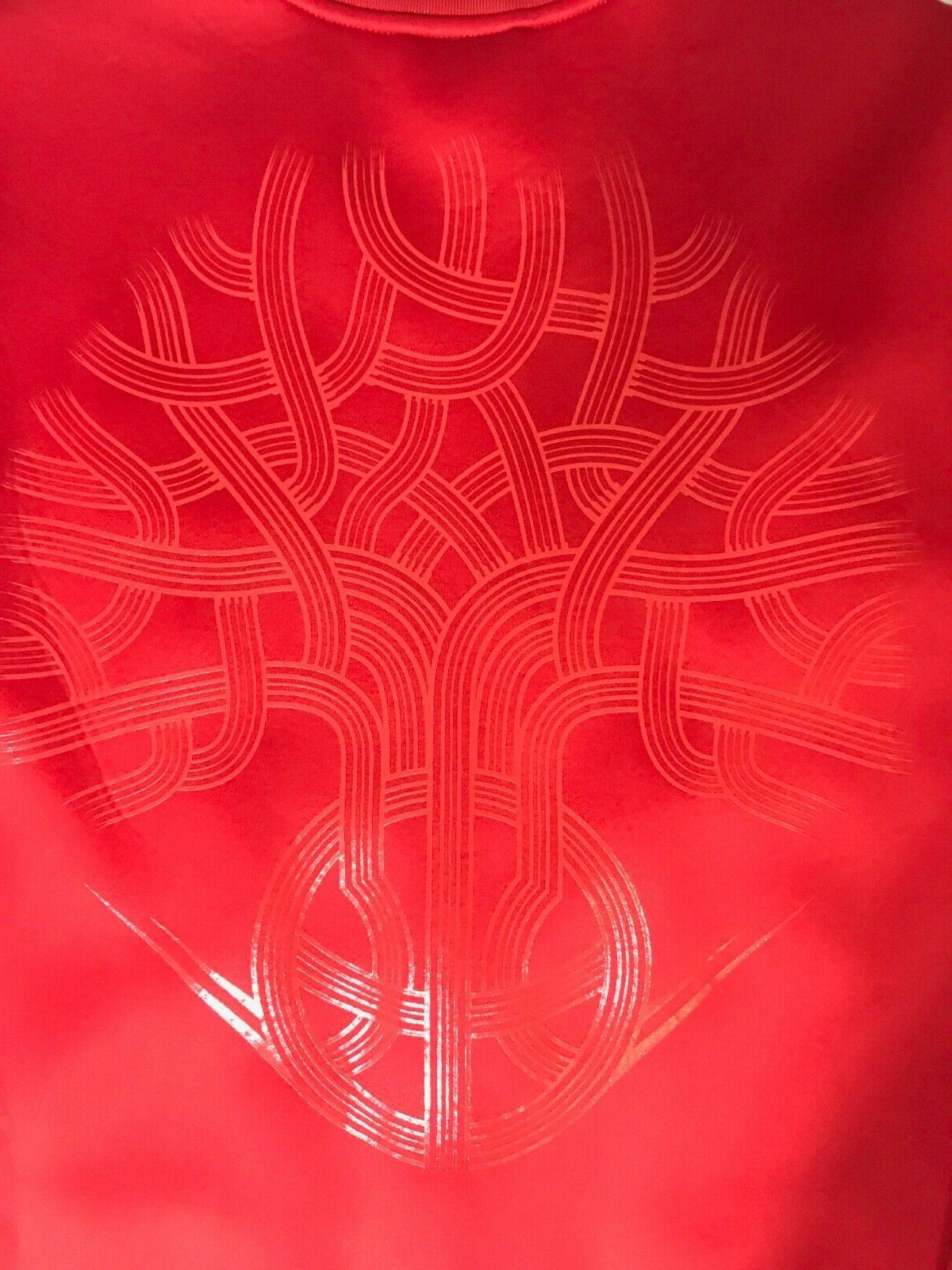 NEW Men's Red Dame Embossed 2XL AO1644
