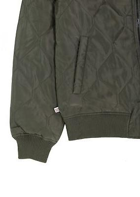 Sovereign NEW Olive Quilted Bomber