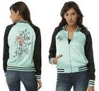new Disney The Little Mermaid Ariel satin souvenir bomber ja