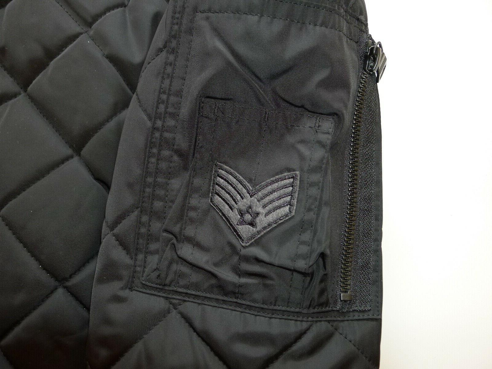 NWT $225 Klein Quilted Bomber Jacket CM908151