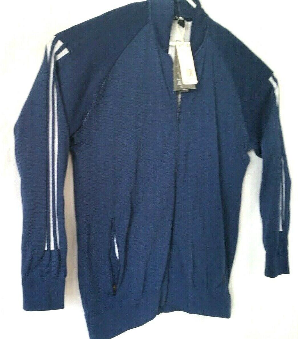 NWT Adidas Bomber Athletic Jacket Size LARGE $120