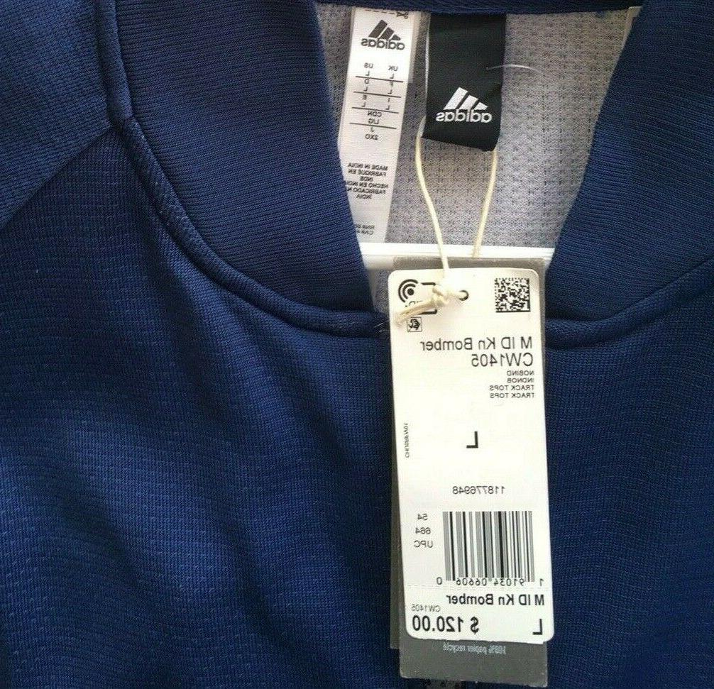 NWT Bomber Size Blue CW1405 $120