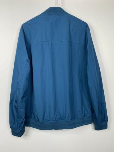 Ted Ohta Jacket Coat Pockets Teal Blue Ted $349 NEW
