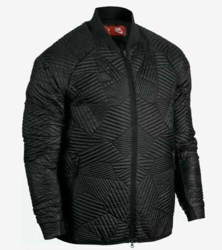 sportswear synthetic fill bomber quilted jacket 864946