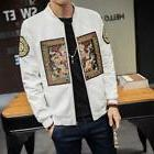 Spring Bomber Jacket Men 2018 New Fashion Chinese Long Pao J