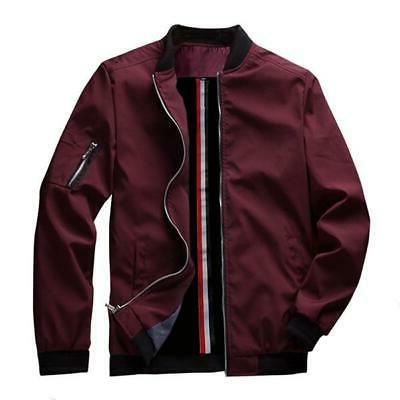 Spring Bomber Zipper Jacket Hip Hop Slim
