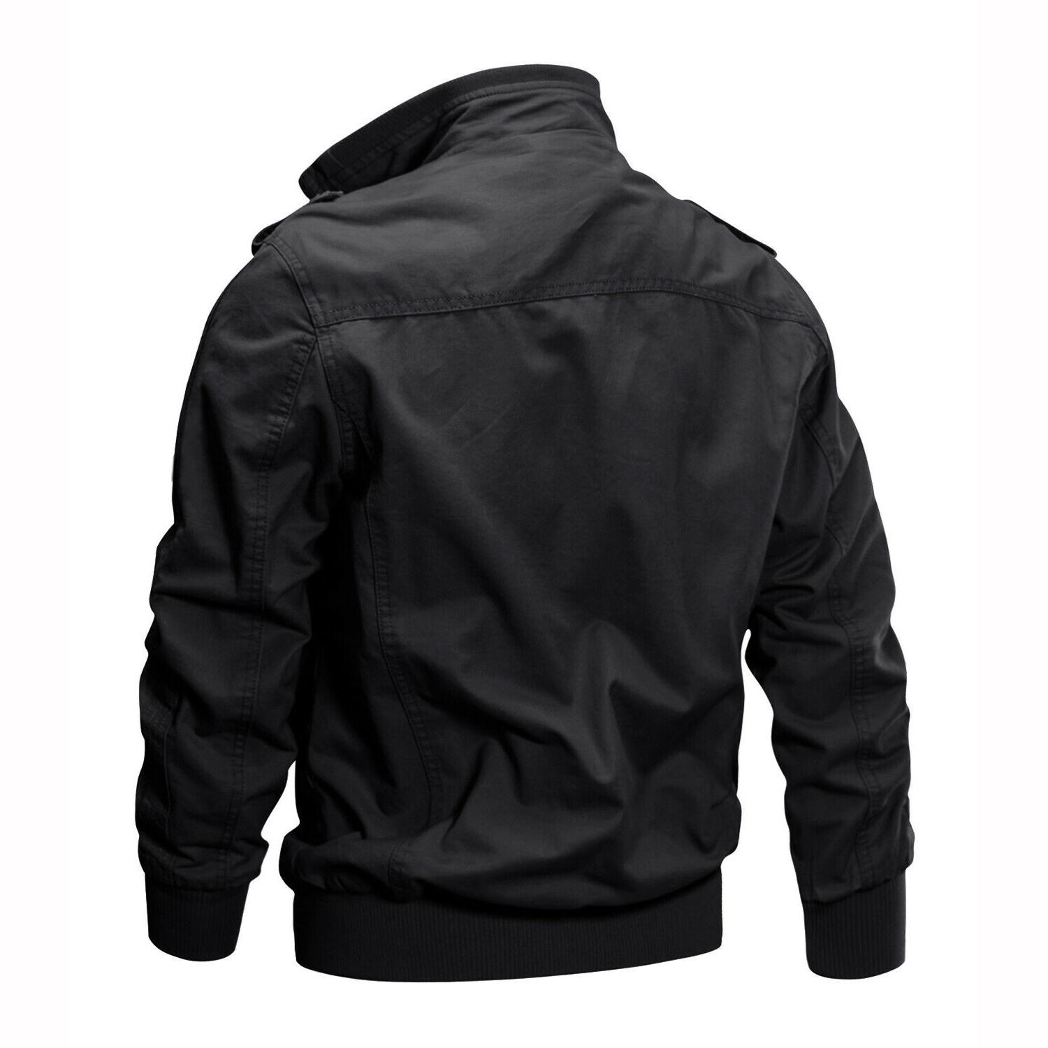 Tactical Men's Bomber Army Field Combat Cotton Work