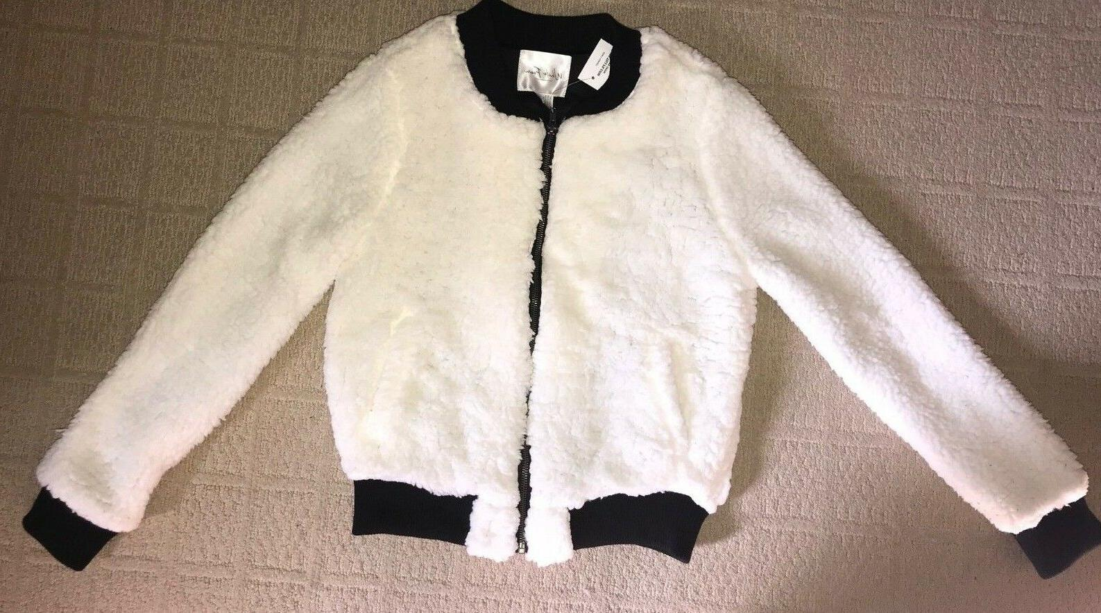 TILLYS WHITE FAWN SM 1 3 MED 5 7 L 9 11 SOFT FAUX LAMB SHERP