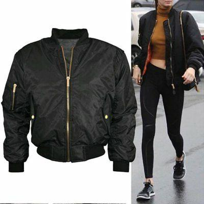 US Padded Vintage Zip Up Biker Coat Stylish