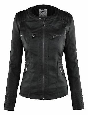 Womens Removable Jacket M Black