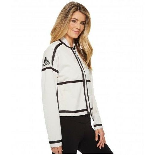 Adidas Women ATHLETICS ZNE Reversible Track TOP Bomber Jacke