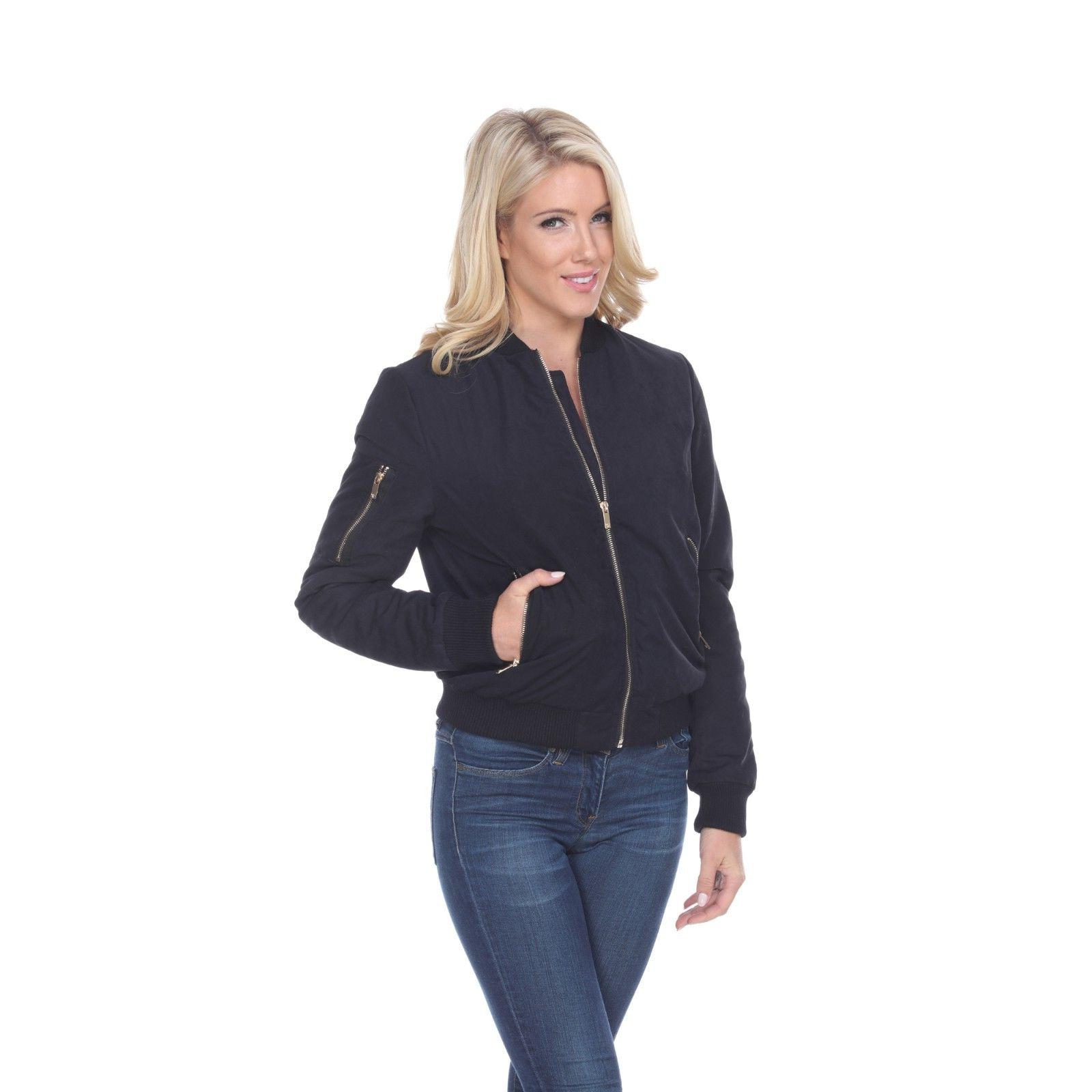 Women's Bomber Jacket with Ribbed Collar & modern fit in Sol