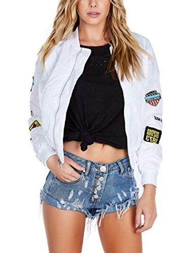 womens classic cotton blend quilted jacket short
