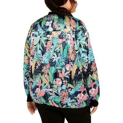 Calvin Performance Floral Spring Coat Plus BHFO 4366