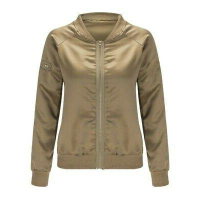 Womens Jacket Baseball Coat