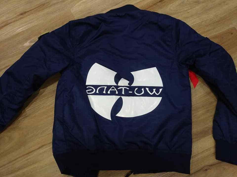 wu bomber jacket brand new with tags
