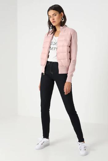 Ted Baker Xinta bomber-style Quilted Top Lilac Size US NWT