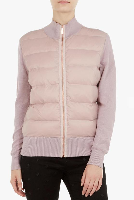 Ted Baker Quilted Top in Lilac = US L