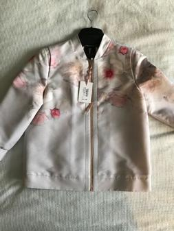 Ladies Ted Baker Floral Bomber Jacket Never Been Worn