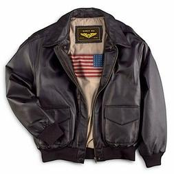 Landing Leathers Men's Air Force A-2 Leather Flight Bomber J