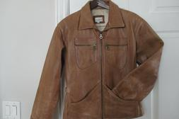 Sundance Leather Jacket Motorcycle Bomber Women S Aviator Co