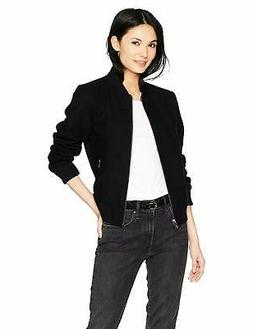 Levi's Women's Wool Blend Rib Knit Bomber Jacket - Choose SZ