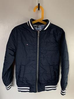 Tommy Hilfiger lightly insulated reversible bomber jacket fo