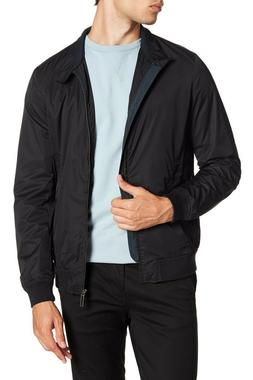 Ted Baker London Men's Black Monoco Bomber Full Zip Jacket