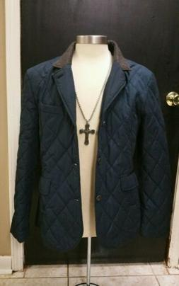 Ted Baker London Mens Winter Jacket Size 4 Navy Blue