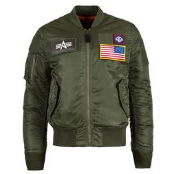 Alpha Industries MA-1 Flex Slim Fit Flight Jacket 4 colors M