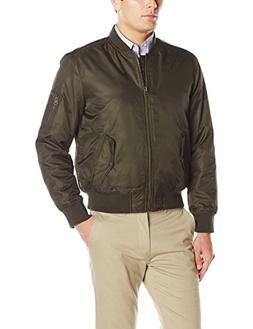 Levi's Men's Ma-1 Flight Jacket, Olive, L