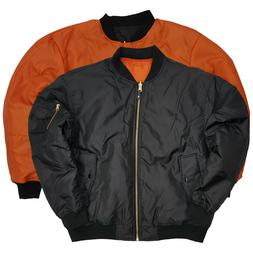 Men's MA-1 Bomber Jacket Reversible Original Military Flight