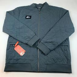 The North Face Men  Distributor Bomber Jacket Grey Standard