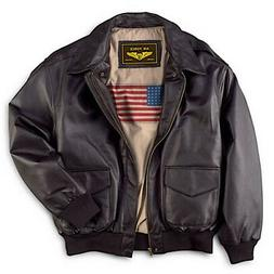 Landing Leathers Men's Air Force A2 Leather Flight Bomber Ja